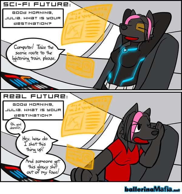 Sci-Fi vs Reality